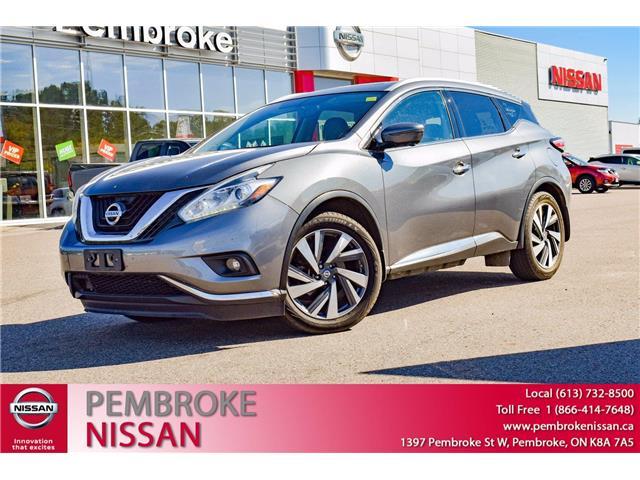 2017 Nissan Murano SL (Stk: 21164A) in Pembroke - Image 1 of 30