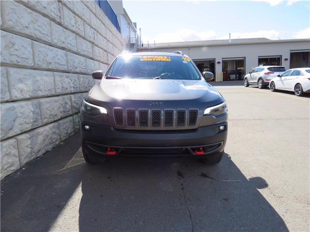 2019 Jeep Cherokee Trailhawk, Leather, AC, Cruise and more (Stk: D10790A) in Fredericton - Image 1 of 22