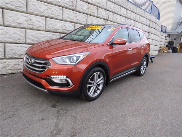 2017 Hyundai Santa Fe Sport Limited, Leather, AC, Loaded (Stk: D10865PA) in Fredericton - Image 1 of 22