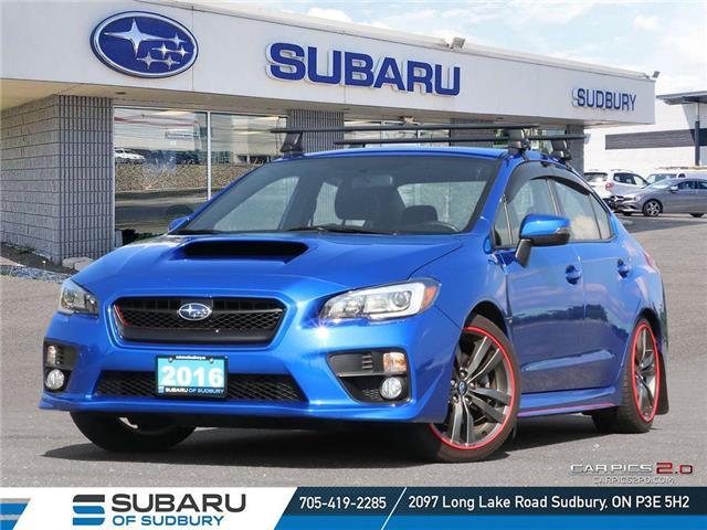 2016 Subaru WRX Sport-tech Package (Stk: S22009A) in Sudbury - Image 1 of 24