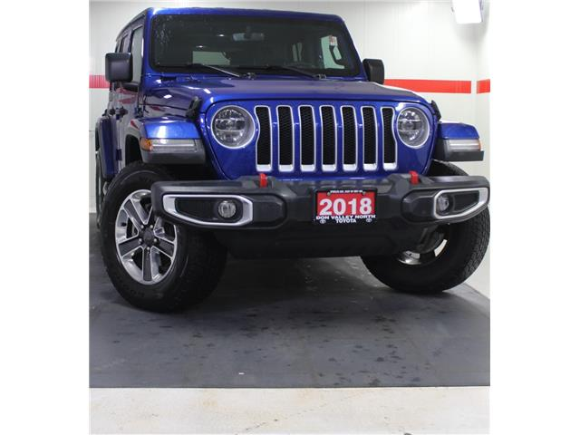2018 Jeep Wrangler Unlimited Sahara (Stk: 10101268A) in Markham - Image 1 of 1