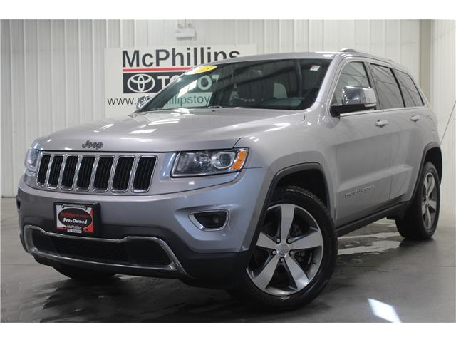 2015 Jeep Grand Cherokee Limited (Stk: 5952093A) in Winnipeg - Image 1 of 27