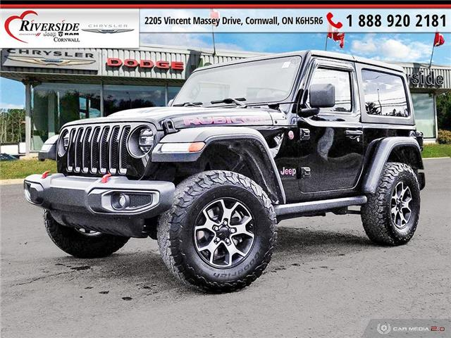 2019 Jeep Wrangler Rubicon (Stk: W09001) in Cornwall - Image 1 of 24