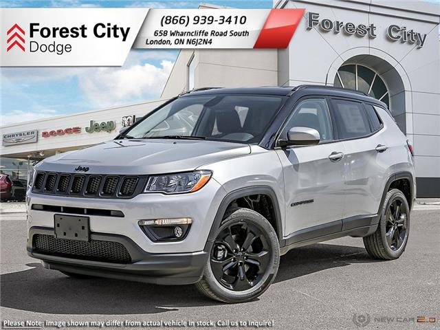 2021 Jeep Compass Altitude (Stk: 21-9023) in London - Image 1 of 22