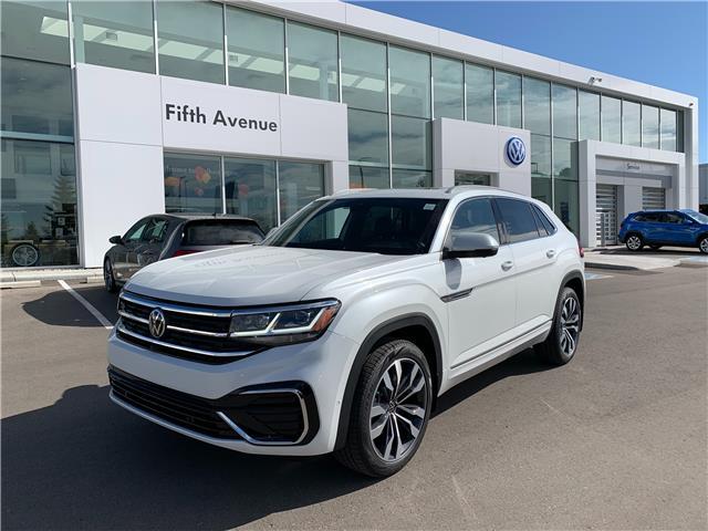 2021 Volkswagen Atlas Cross Sport 3.6 FSI Execline (Stk: 21357) in Calgary - Image 1 of 18