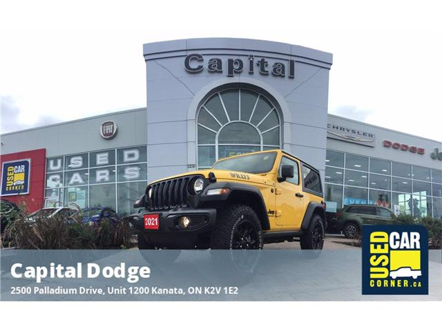 2021 Jeep Wrangler Sport (Stk: P3226A) in Kanata - Image 1 of 21