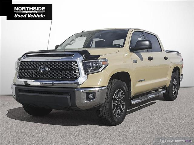 2018 Toyota Tundra SR5 Plus 5.7L V8 (Stk: T21268A) in Sault Ste. Marie - Image 1 of 24