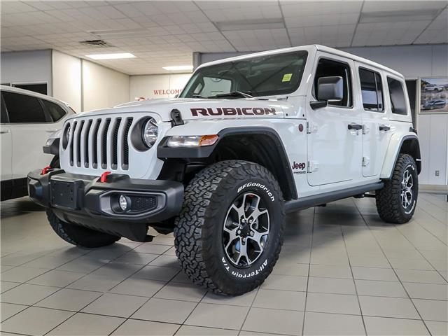 2021 Jeep Wrangler Unlimited Rubicon (Stk: 349921) in Ottawa - Image 1 of 26