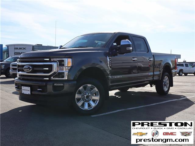 2020 Ford F-350 Platinum (Stk: X33861) in Langley City - Image 1 of 30