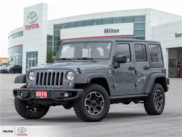2015 Jeep Wrangler Unlimited Rubicon (Stk: 584509) in Milton - Image 1 of 21
