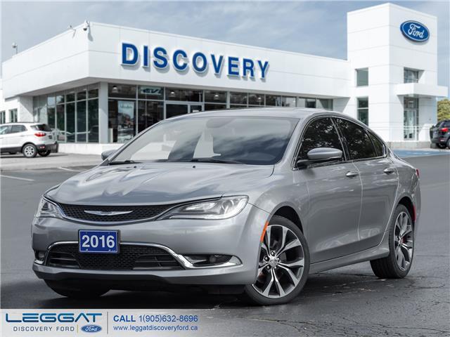 2016 Chrysler 200 C (Stk: 16-85338) in Burlington - Image 1 of 22