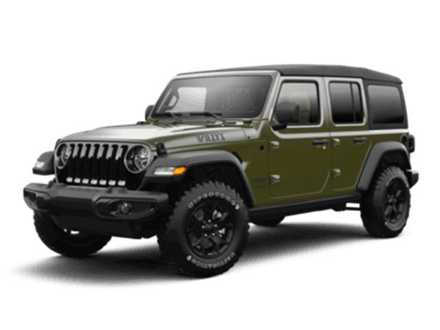 2021 Jeep Wrangler Unlimited Sport (Stk: ) in Kingston - Image 1 of 5