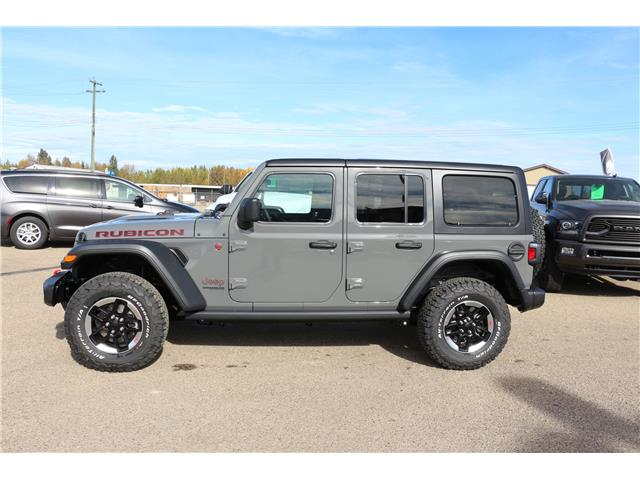 2021 Jeep Wrangler Unlimited Rubicon (Stk: MT171) in Rocky Mountain House - Image 1 of 9