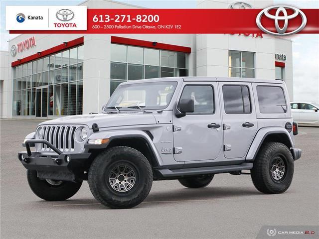 2018 Jeep Wrangler Unlimited Sahara (Stk: 91457A) in Ottawa - Image 1 of 28