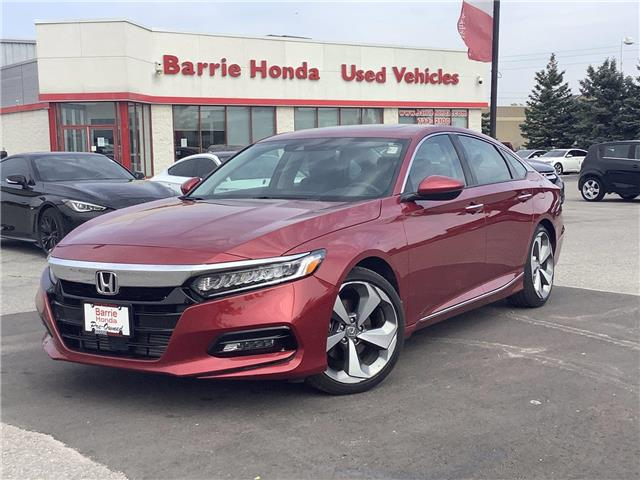 2019 Honda Accord Touring 1.5T (Stk: 11-21845A) in Barrie - Image 1 of 22