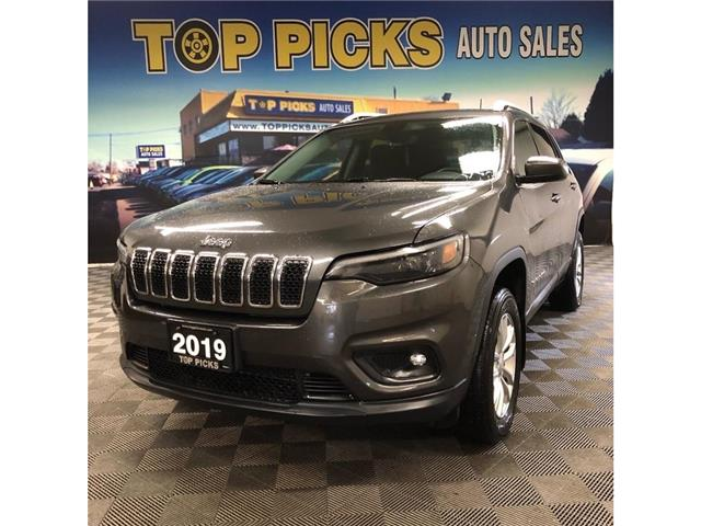 2019 Jeep Cherokee North (Stk: 318439) in NORTH BAY - Image 1 of 30