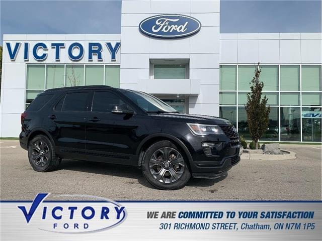 2018 Ford Explorer Sport (Stk: V20494A) in Chatham - Image 1 of 29