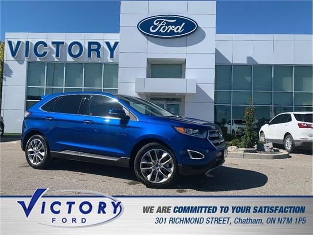 2018 Ford Edge Titanium (Stk: V6588LB) in Chatham - Image 1 of 29