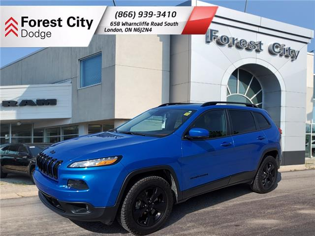 2018 Jeep Cherokee Limited (Stk: 21-8020A) in London - Image 1 of 12