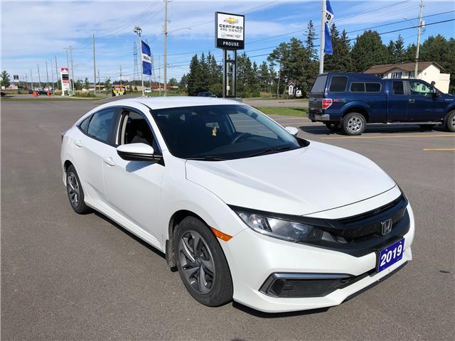 2019 Honda Civic LX (Stk: 5863-21B) in Sault Ste. Marie - Image 1 of 12