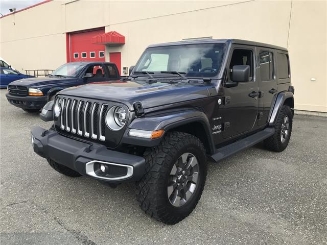2019 Jeep Wrangler Unlimited Sahara (Stk: 8918A) in Sherbrooke - Image 1 of 11