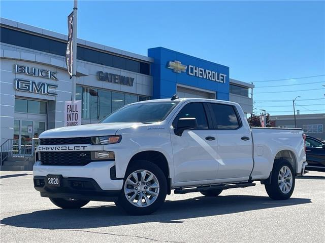 2020 Chevrolet Silverado 1500 Custom / 4X4 / 5.3 V8 /  CREW CAB / (Stk: 202264) in BRAMPTON - Image 1 of 23