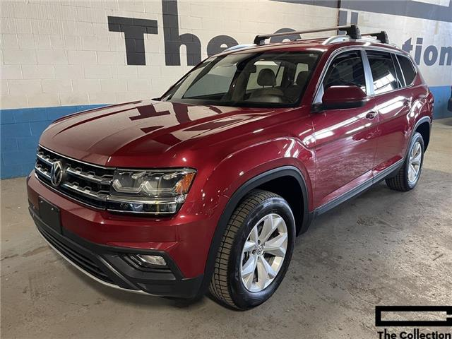 2018 Volkswagen Atlas 3.6 FSI Comfortline (Stk: 1v2lr2) in Toronto - Image 1 of 30