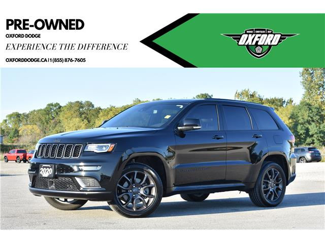 2020 Jeep Grand Cherokee Overland (Stk: 21752A) in London - Image 1 of 28