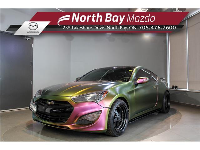 2016 Hyundai Genesis Coupe 3.8 Premium (Stk: 21249A) in North Bay - Image 1 of 24