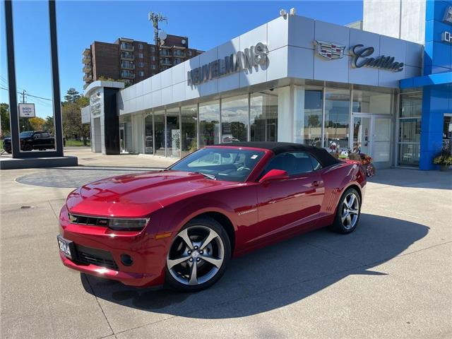 2014 Chevrolet Camaro LT (Stk: 21124A) in Chatham - Image 1 of 25