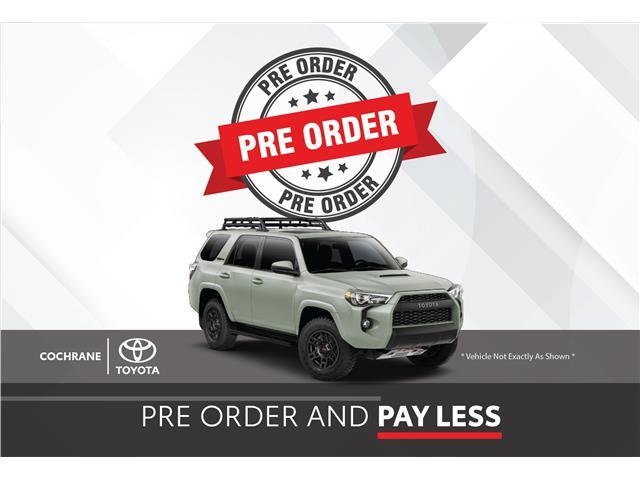 New 2022 Toyota 4Runner TRD Sport FACTORY ORDER SPECIAL - Cochrane - Cochrane Toyota