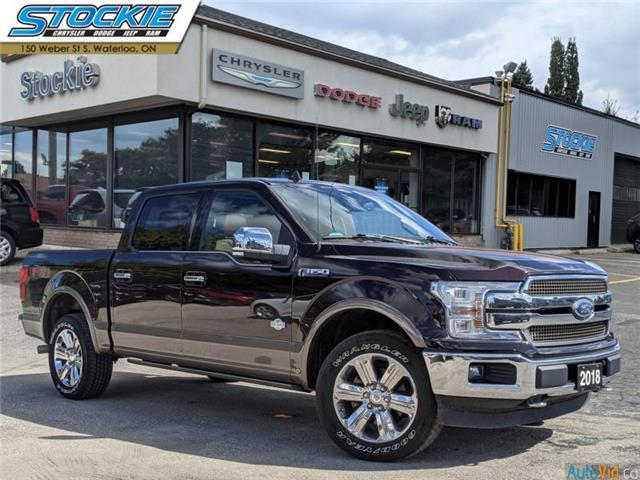2018 Ford F-150 King Ranch (Stk: 37289) in Waterloo - Image 1 of 30