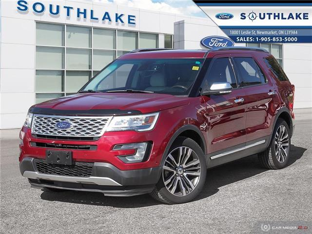 2016 Ford Explorer Platinum (Stk: P51899) in Newmarket - Image 1 of 27