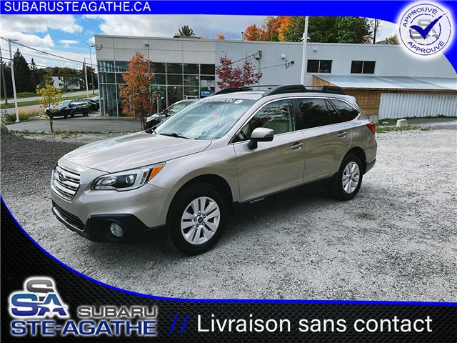 2017 Subaru Outback 2.5i Touring (Stk: A3481A) in Sainte-Agathe-des-Monts - Image 1 of 15