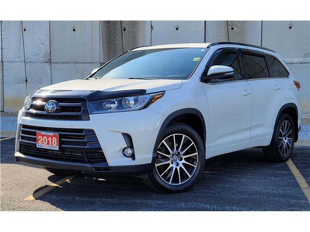 2018 Toyota Highlander XLE (Stk: 61922A) in Sarnia - Image 1 of 23