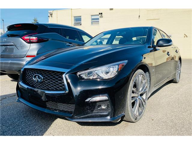 2019 Infiniti Q50 3.0t Signature Edition (Stk: H9761A) in Thornhill - Image 1 of 5