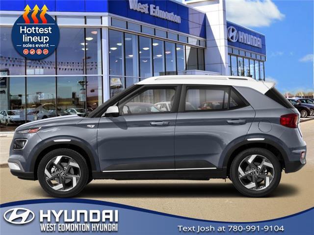 New 2021 Hyundai Venue Ultimate w/Black Interior (IVT)  - Edmonton - West Edmonton Hyundai