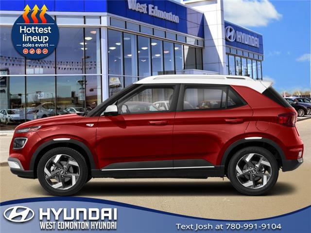2021 Hyundai Venue Ultimate w/Black Interior (IVT) (Stk: VN10314) in Edmonton - Image 1 of 1