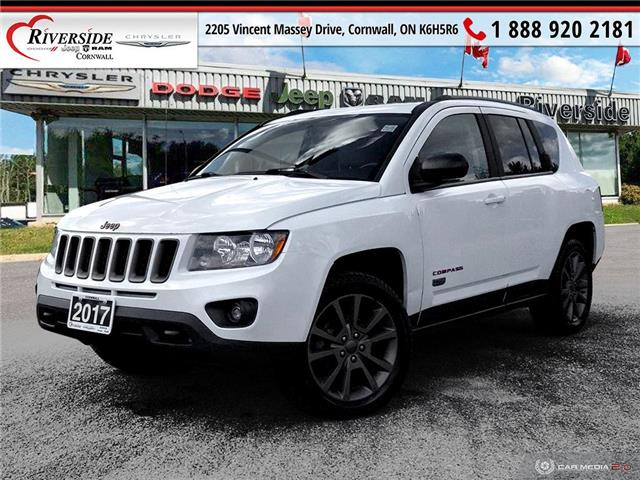 2017 Jeep Compass Sport/North (Stk: N21147A) in Cornwall - Image 1 of 25