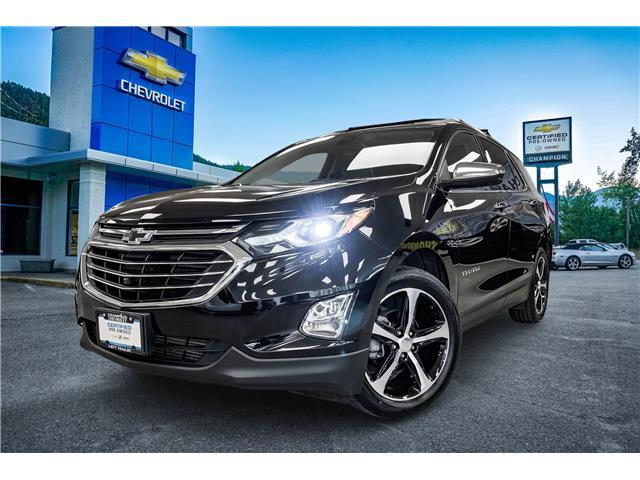 2019 Chevrolet Equinox Premier (Stk: P21-204) in Trail - Image 1 of 24