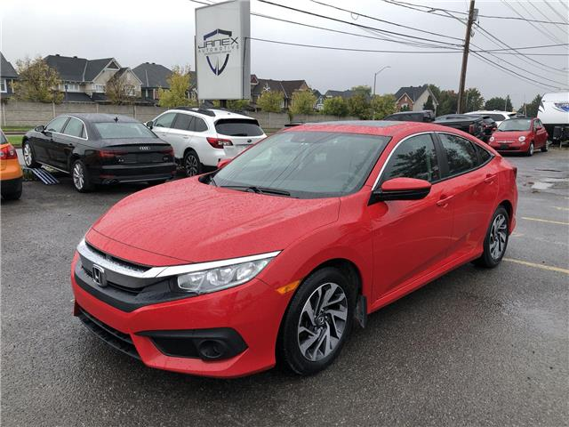 2018 Honda Civic EX (Stk: 21408) in Ottawa - Image 1 of 25