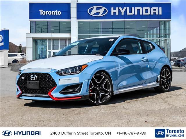 2022 Hyundai Veloster N N (Stk: N23450) in Toronto - Image 1 of 30