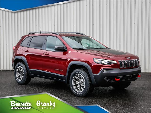 2021 Jeep Cherokee Trailhawk (Stk: G1-0407) in Granby - Image 1 of 32