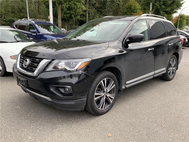 2018 Nissan Pathfinder Platinum (Stk: A21136A) in Abbotsford - Image 1 of 3