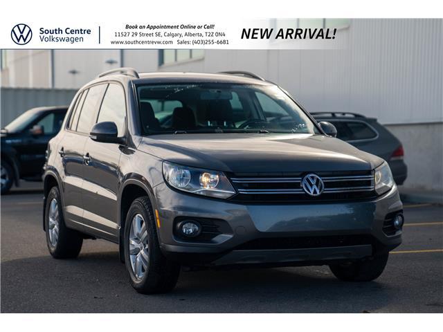 2014 Volkswagen Tiguan Trendline (Stk: 10396A) in Calgary - Image 1 of 5