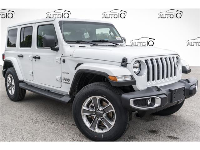 2021 Jeep Wrangler Unlimited Sahara (Stk: 35398D) in Barrie - Image 1 of 26