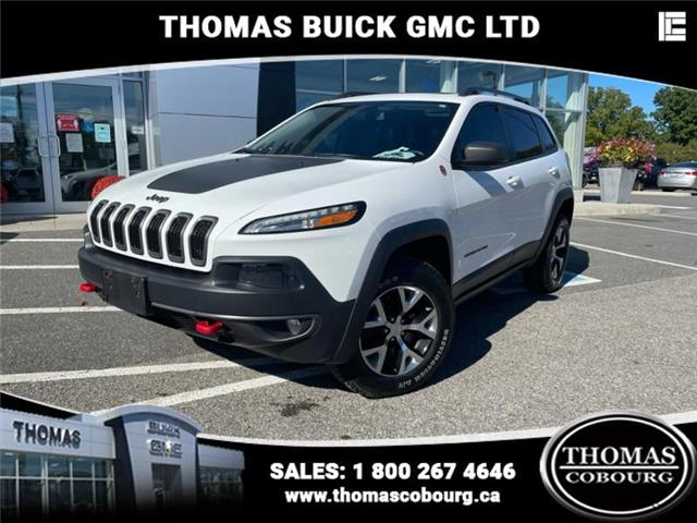 2018 Jeep Cherokee Trailhawk (Stk: UT04999) in Cobourg - Image 1 of 23