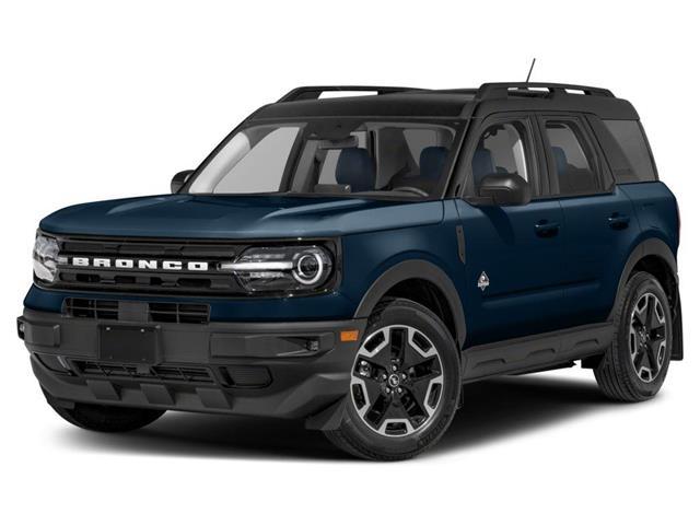 2021 Ford Bronco Sport Outer Banks (Stk: MBR035) in Fort Saskatchewan - Image 1 of 9