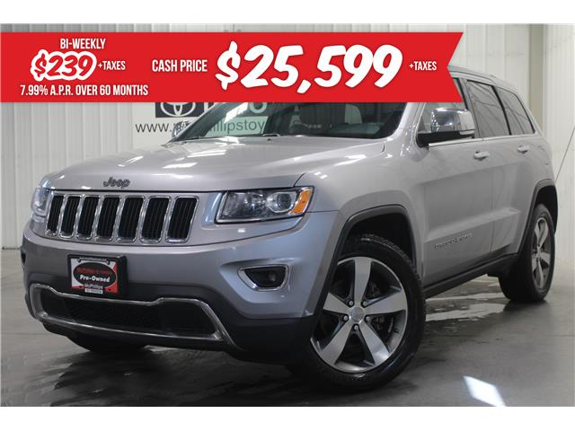 2015 Jeep Grand Cherokee Limited (Stk: 5952093A) in Winnipeg - Image 1 of 28