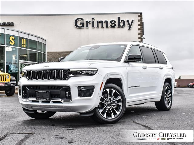 2021 Jeep Grand Cherokee L Overland (Stk: N21355) in Grimsby - Image 1 of 33